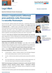Kochanski & Partners-Newsletter-Legal-Alert-Wrzesien-2015