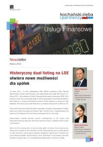 K&P Newsletter LSE Marzec 20161