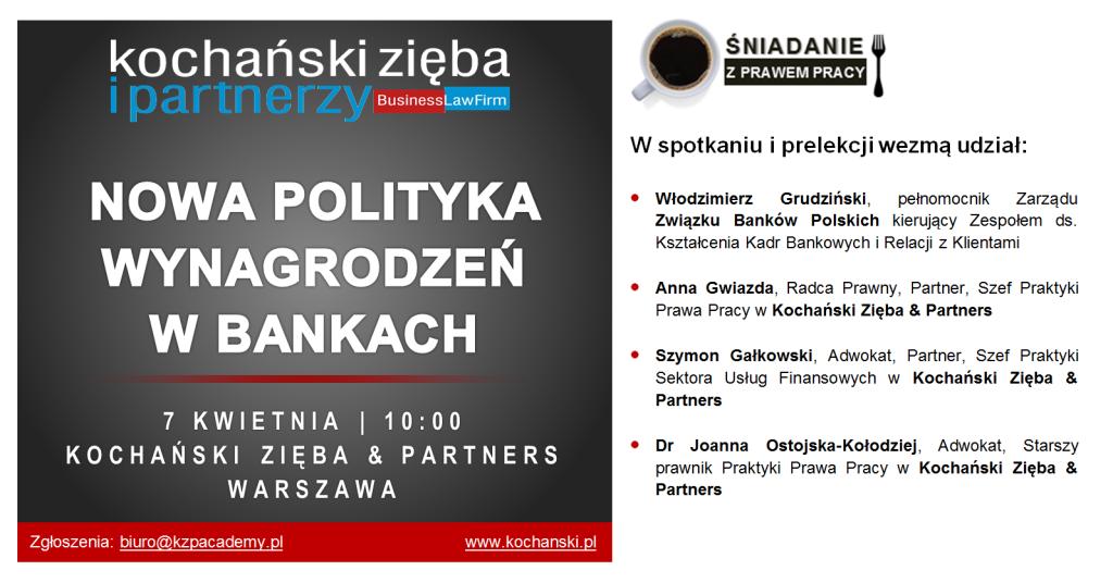 20170407 Kochanski & Partners - Śniadanie prawo pracy