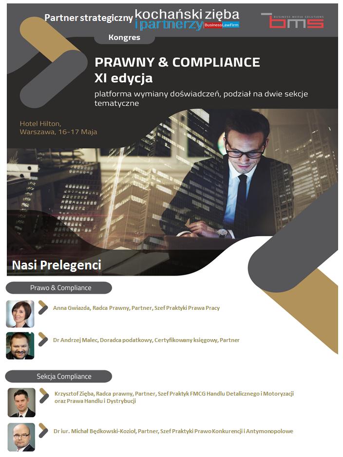 Kongres Prawny & Compliance grafika
