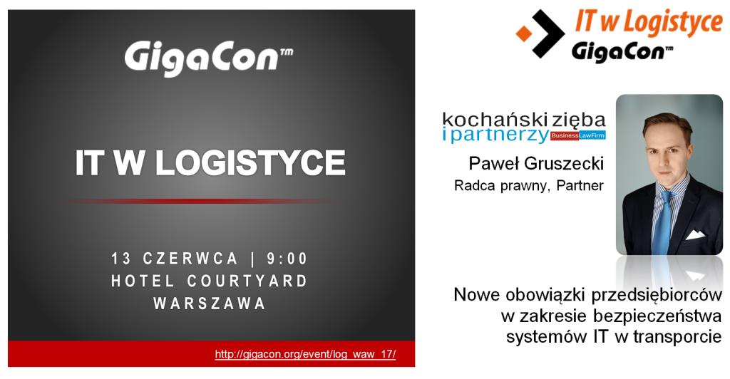 20170613 GigaCon - IT W Logistyce
