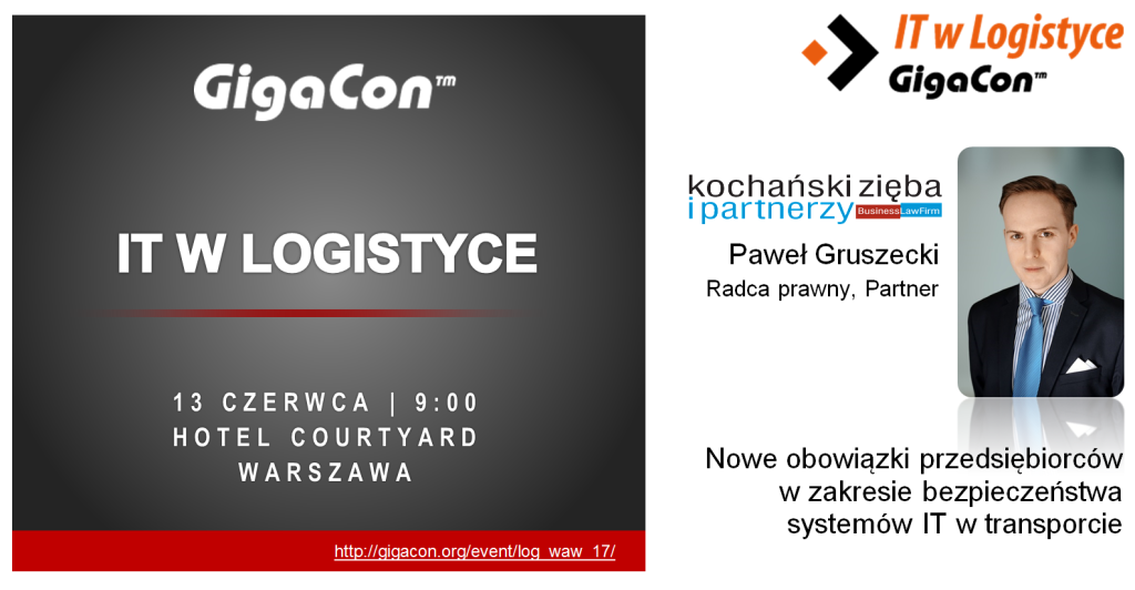20170613 GigaCon - IT WLogistyce