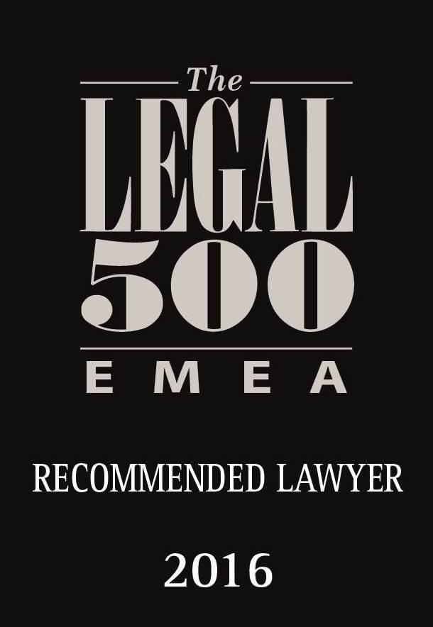 EMEA Legal 500 year 2016