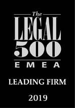 EMEA Legal 500 year 2019