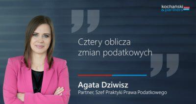 2020 11 06_Agata Dziwisz_Cztery Oblicza Zmian Podatkowych