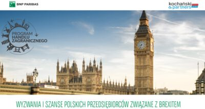 2020 12 07 Wyzwania I Szanse Polskich Przedsiębiorców Związane Z Brexitem