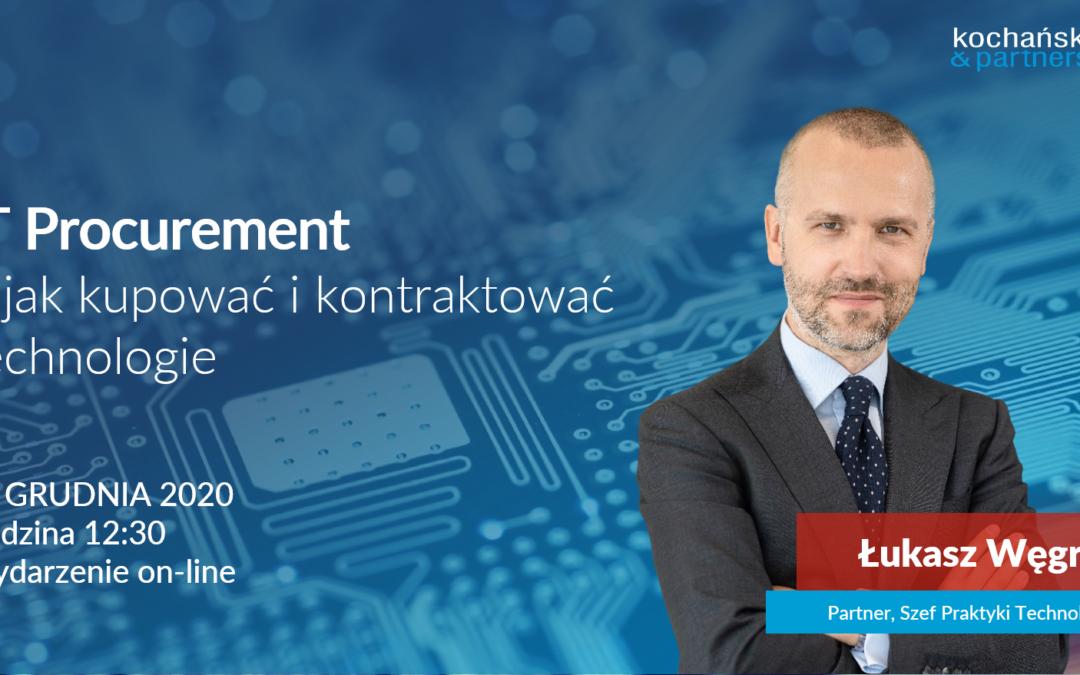 IT Procurement – jak kupować ikontraktować technologie