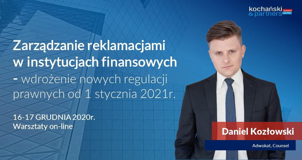 Stosowanie procedur reklamacyjnych przezpodmioty rynku finansowego