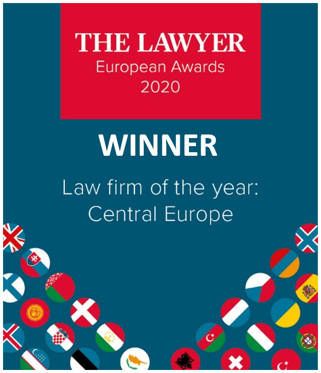 "Kochański & Partners named ""Law firm of the year: Central Europe"" by The Lawyer"