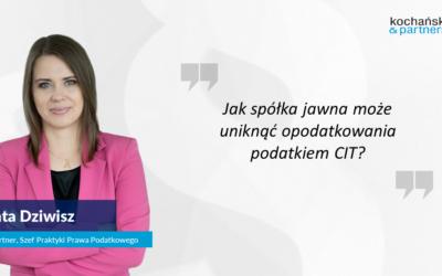 2021 01 27_Agata Dziwisz_Tax Alert