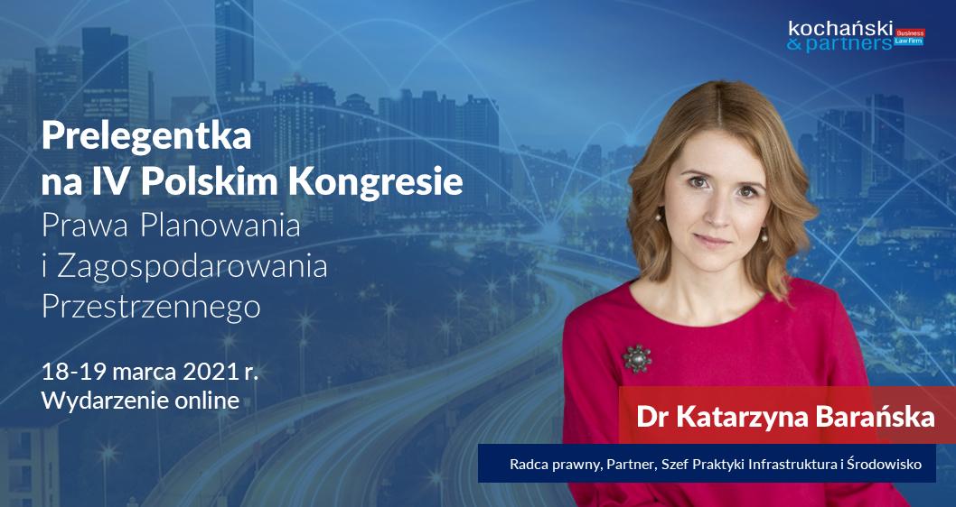 IV Polski Kongres Prawa Planowania iZagospodarowania Przestrzennego
