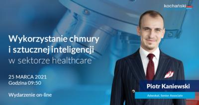 2021 03 23_Piotr Kaniewski_AI W Healthcare