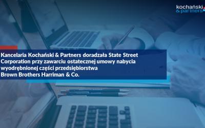 Transakcja State Street Corporation   Brown Brothers Harriman & Co.   Rafał Rapala Pl2